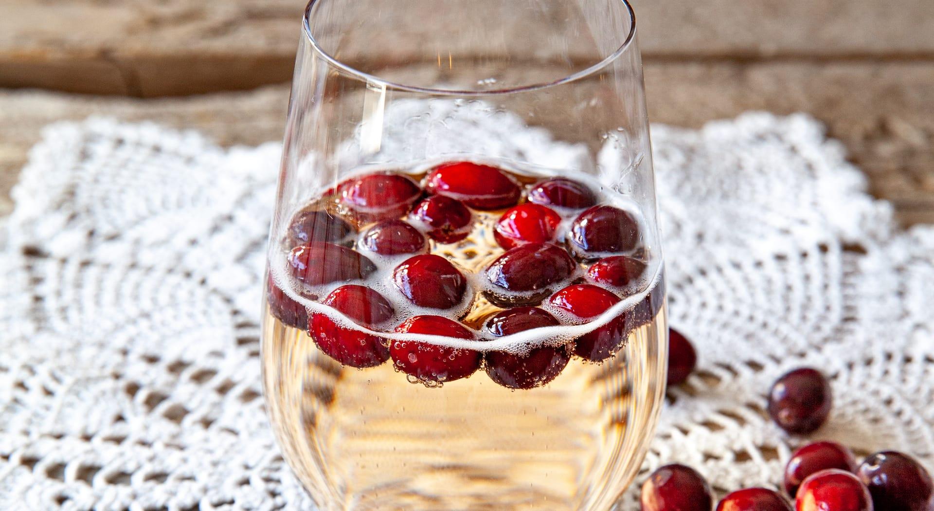 Northern Michigan sparkling wine