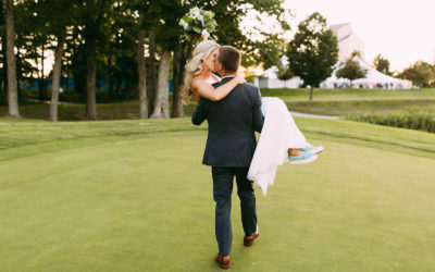 A Grand Traverse Resort and Spa Wedding Has a Sandy Beach, Golf & a 17th-Floor Restaurant with Unbelievable Views