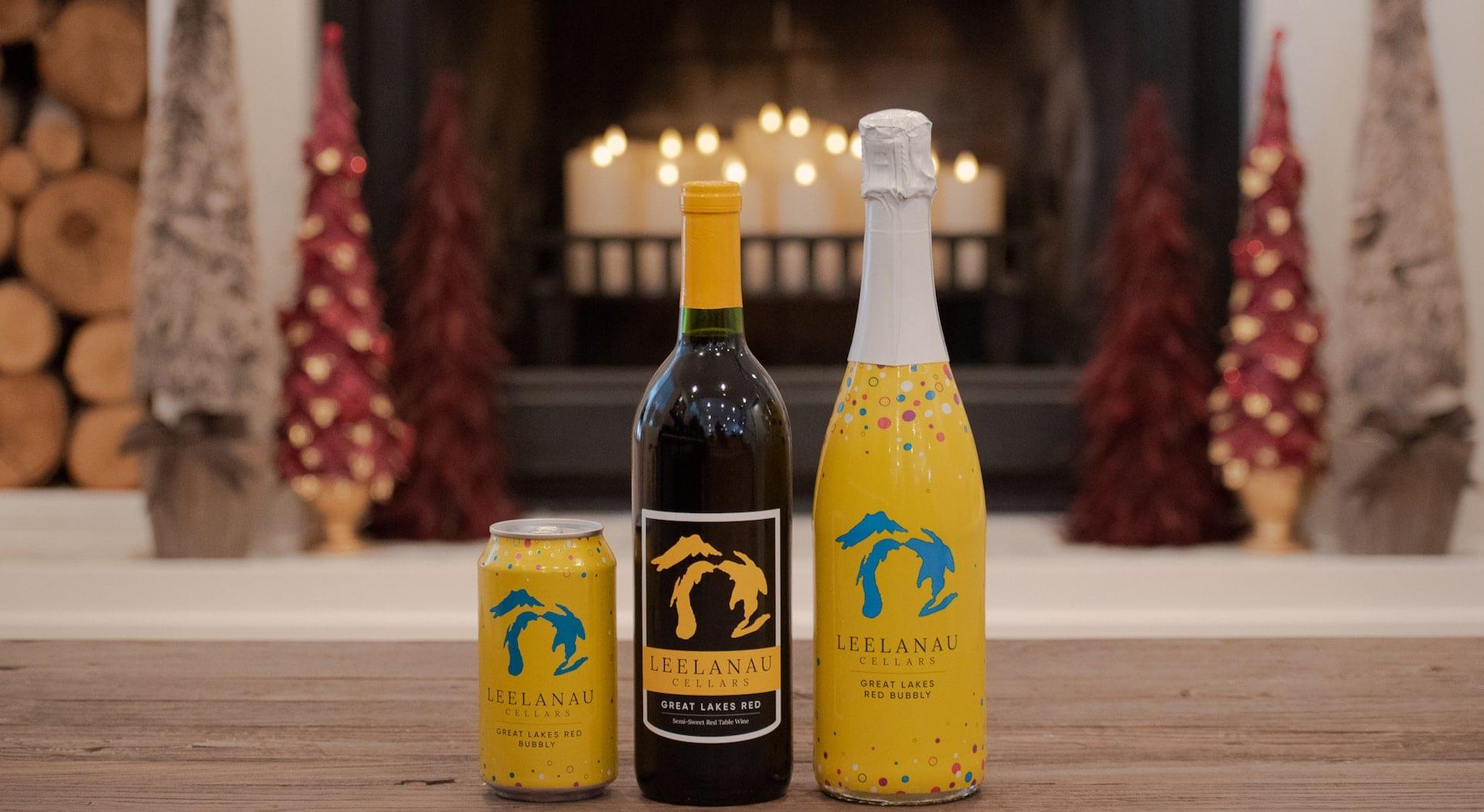 Leelanau Cellars sparkling wine