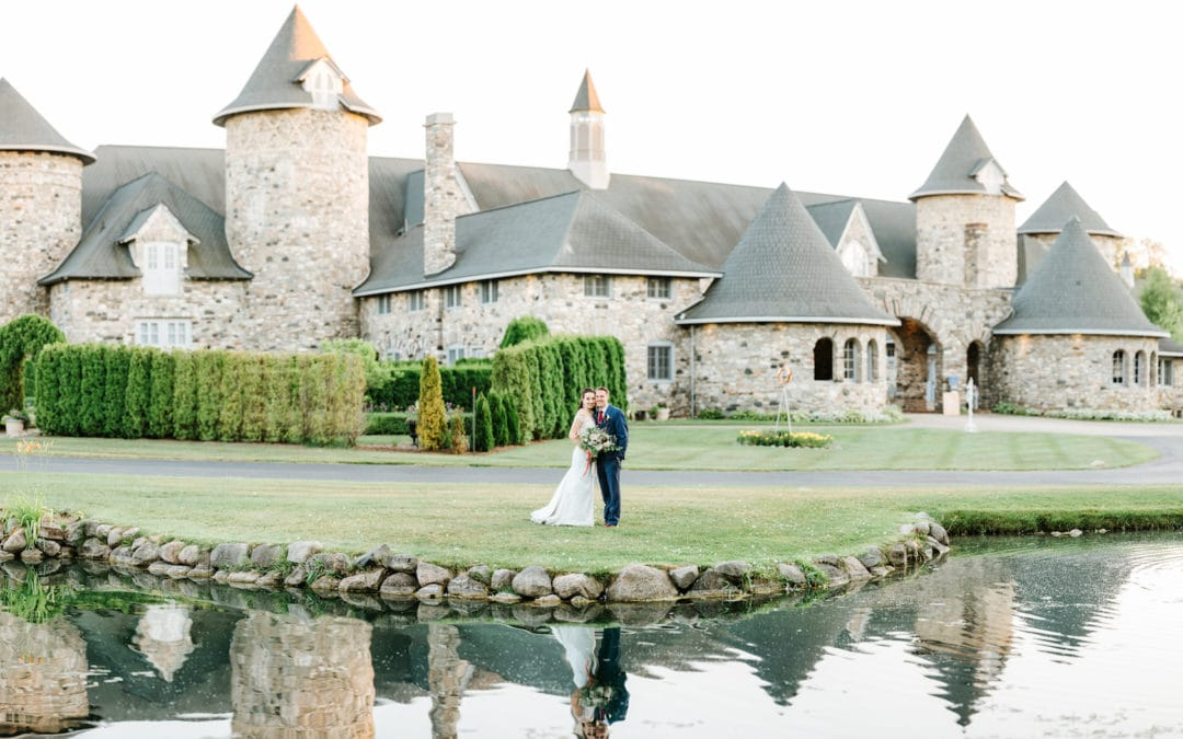 An Enchantingly Beautiful Castle Farms Wedding