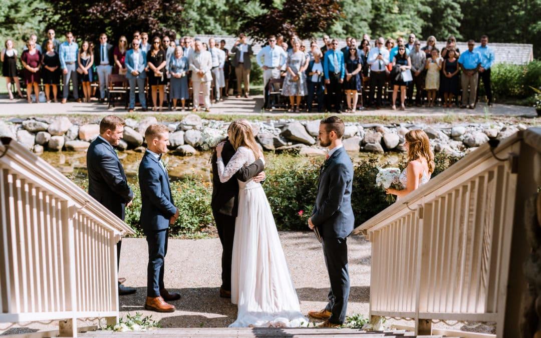 Summer Wedding in Glen Arbor