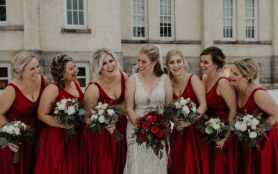 A Christmastime Wedding at Kirkbride Hall in Traverse City is Pure Magic
