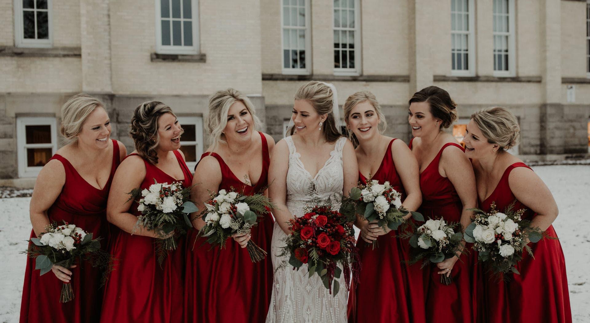 Kirkbride Hall wedding