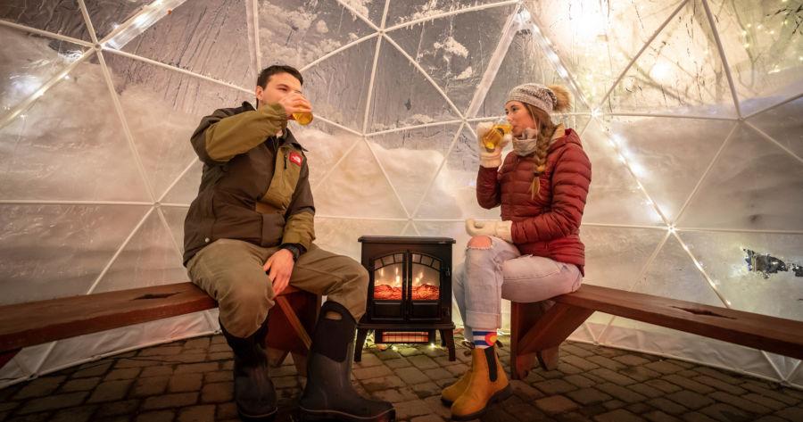 Marquette winter activities