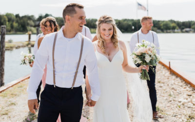 A Drummond Island Wedding is Perfect for a Laid-Back, Outdoor-Loving Couple