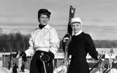 Retro Snapshots from Michigan Ski Resorts