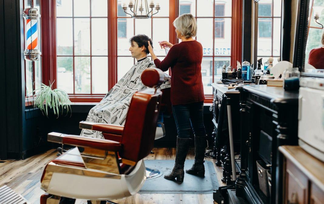 manistee barbershop