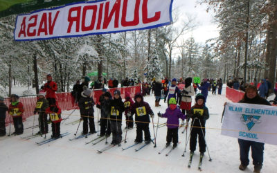 Jr. Vasa Welcomes Young Skiers to Annual Traverse City Race
