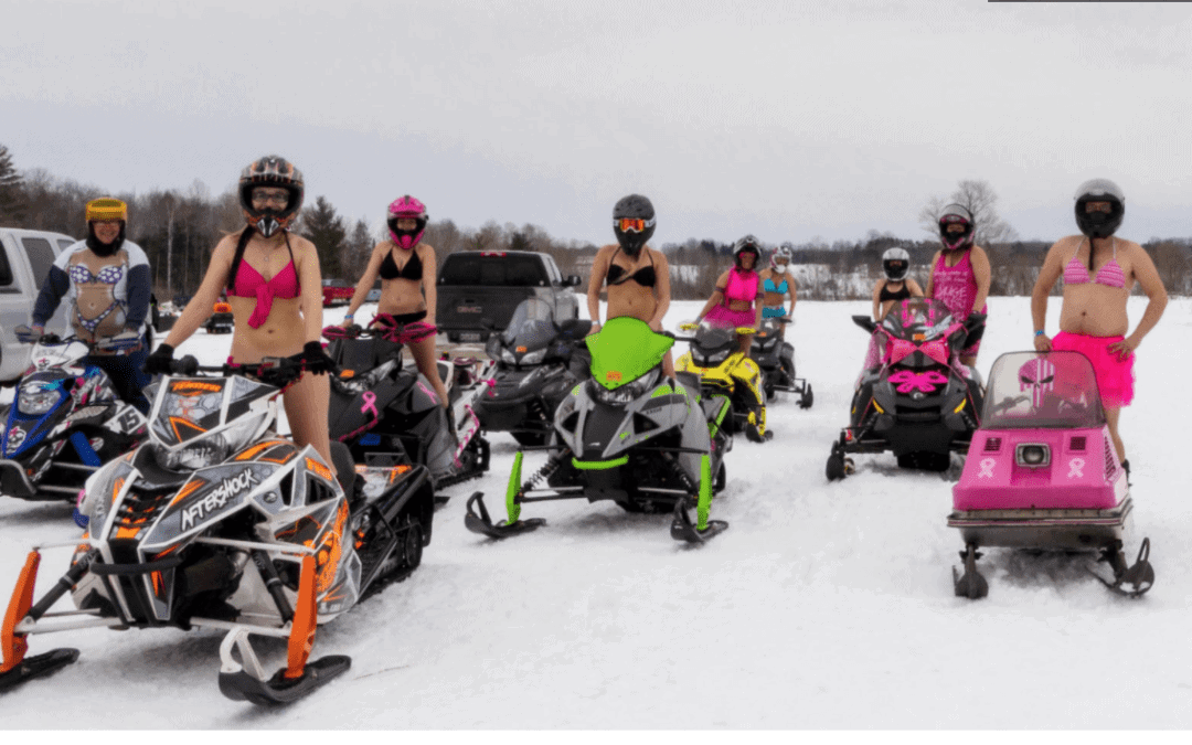 snowmobile for cancer, snowmobiling
