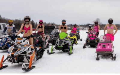 Northern Michigan Snowmobile Race Supports Cancer Patients