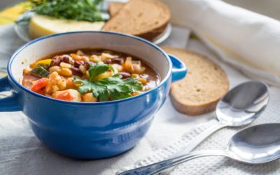 Spicy Black Bean Soup Recipe from Traverse City's Dish Cafe
