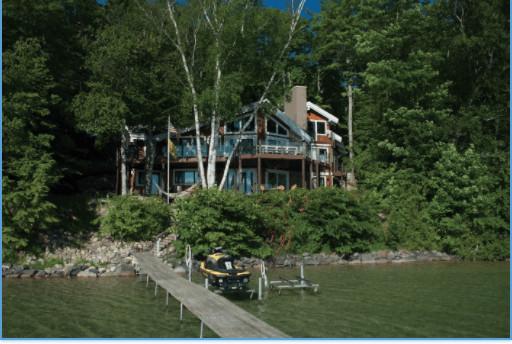 Torch Lake Home Gets Landscape Makeover