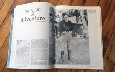 A Life of Wild Adventures: Meet Author James B. Hendryx