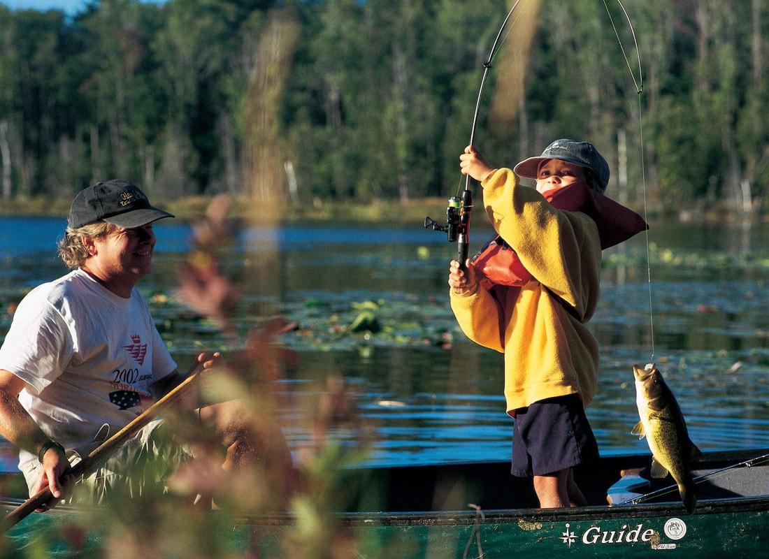 kids, fishing, fish