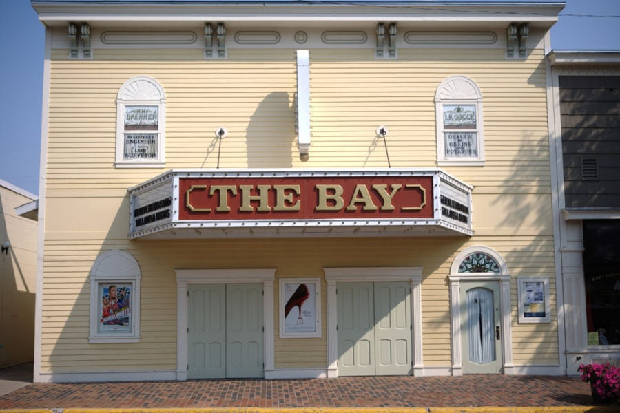 the bay theater, suttons bay movie theater