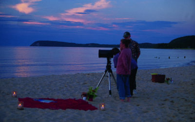 Skywatching in Northern Michigan: Planets, Meteors, Galaxies