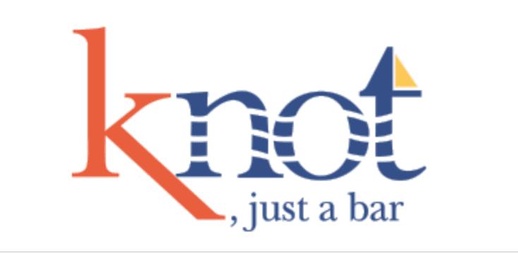 knot just a bar logo