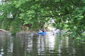 traverse city kayak, boardman river, downtown kayak, kayaking