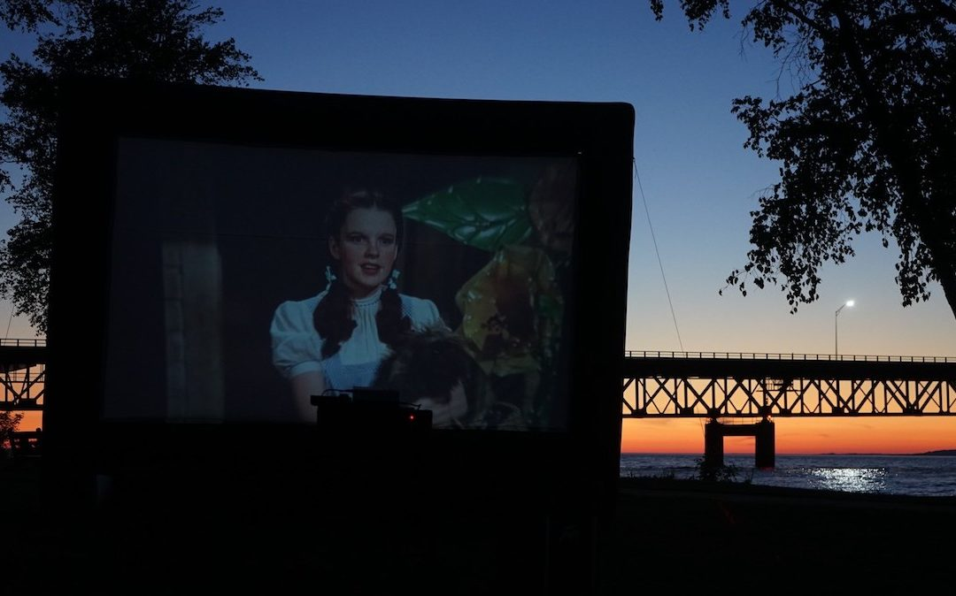You Can Watch a Movie by the Mackinac Bridge This Summer