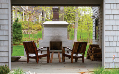 3 Outdoor Fireplaces for Cozy Nights in Northern Michigan