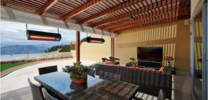 outdoor heater, heating