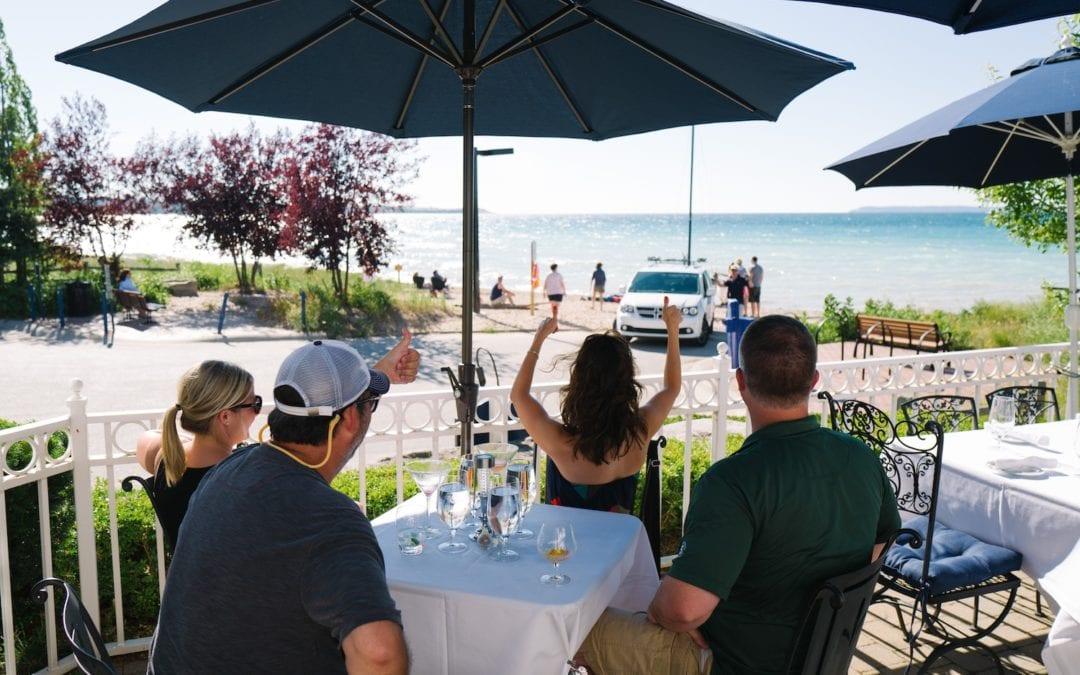 Outdoor Dining in Glen Arbor in Leelanau County