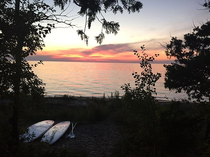 _Fishermans_Island_sunset_paddleboards