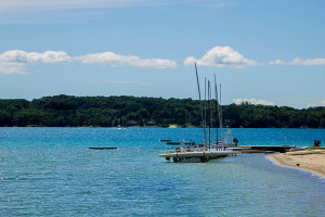 Torch Lake from Camp Hayo-Went-Ha