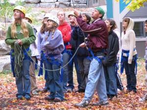 Campers at Camp Daggett