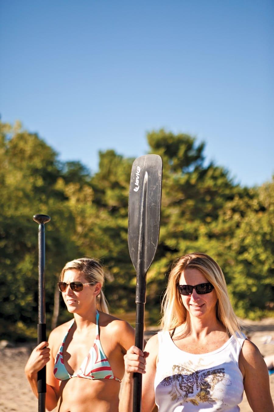 paddle boarding in michigan