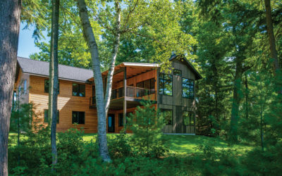 A Truly Unique Tree-Inspired Home in Northern Michigan