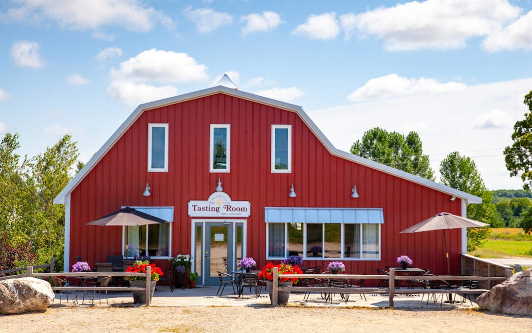 Enjoy Petoskey Wine Region Wineries This Fall Safely & Deliciously!