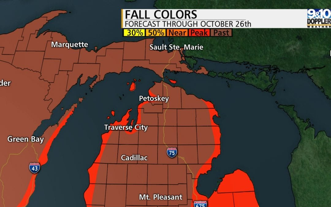 Northern Michigan Fall Color Map: Last Chance for Peak Color!