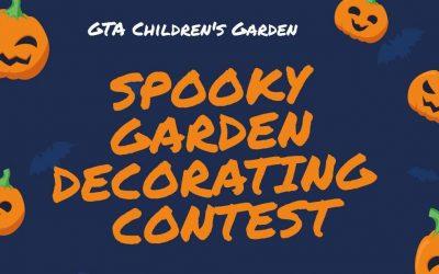 Traverse City Children's Garden Hosting Safe Halloween Event