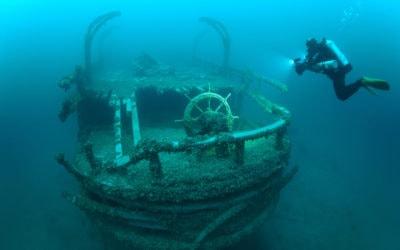 Michigan Diver Chris Roxburgh Shares Epic Shipwreck Photos