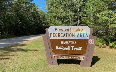 St. Ignace Fall Camping Getaway at Hiawatha National Forest