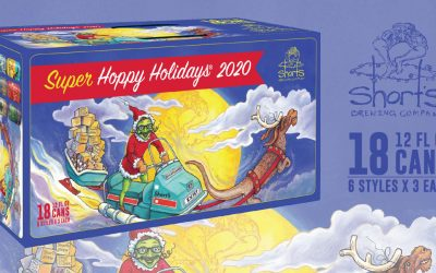 "Short's Brewing Offers Bigger ""Super Hoppy Holidays"" Pack"