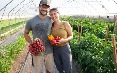 Farm2Neighbor Gives Gift of Fresh Food in Northern Michigan