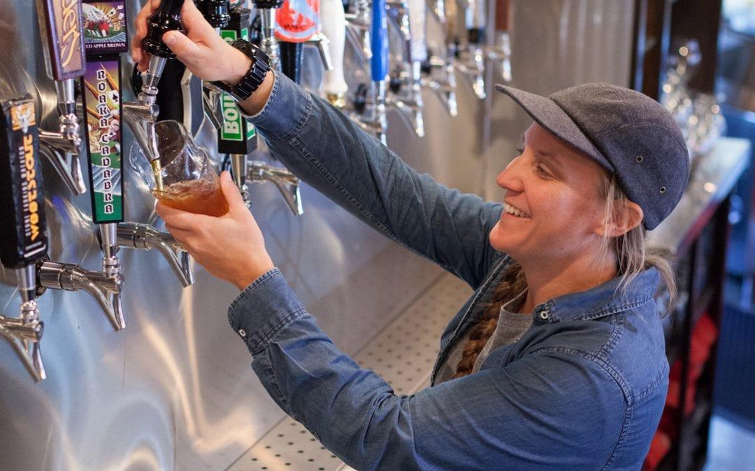 Brewery, brewpub, Traverse City, Rare Bird Brewpub