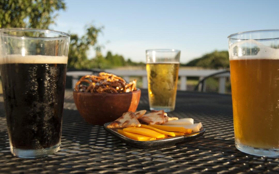 beer, appetizers, snacks, brewery, intern shot