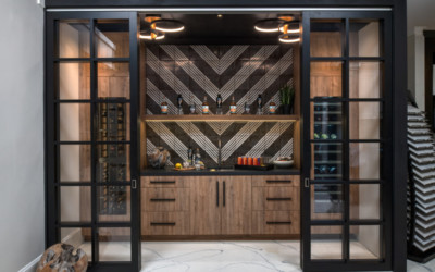 Five Functional and Beautiful Northern Michigan Home Bars