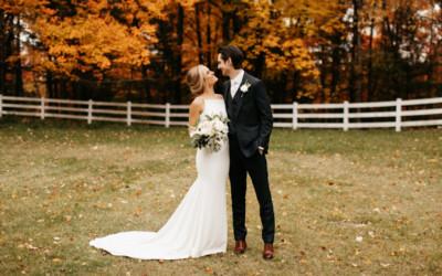 Autumn Wedding Bliss: Boyne Mountain