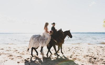 A Wedding on Horseback: Grand Traverse Resort and Spa