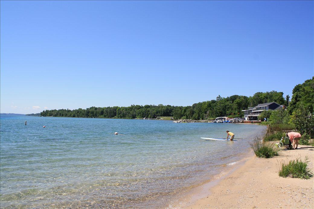 Omena Beach
