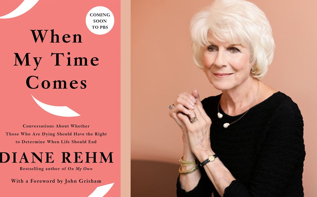 Diane Rehm Wants You to Talk About Dying; Joins National Writers Series