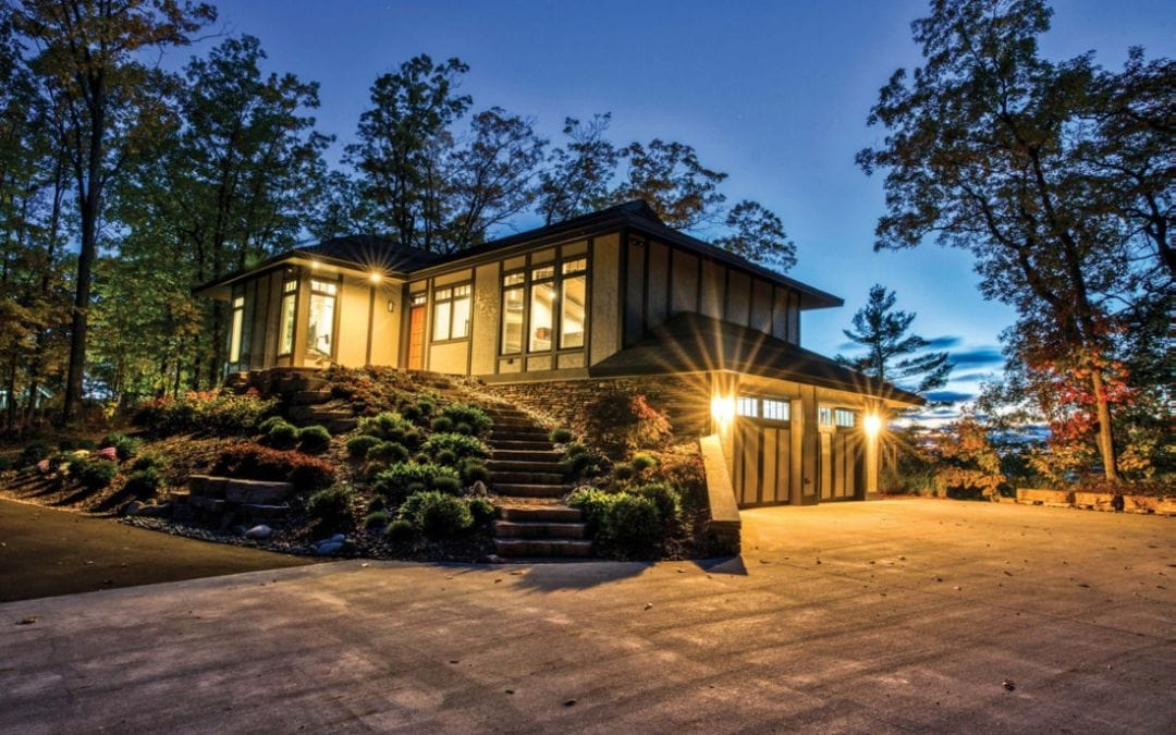 Tokyo Meets Harbor Springs in This Jewel Box Home