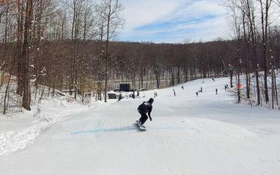 Crystal Mountain's Ski Snowboard Pump Track A Michigan First