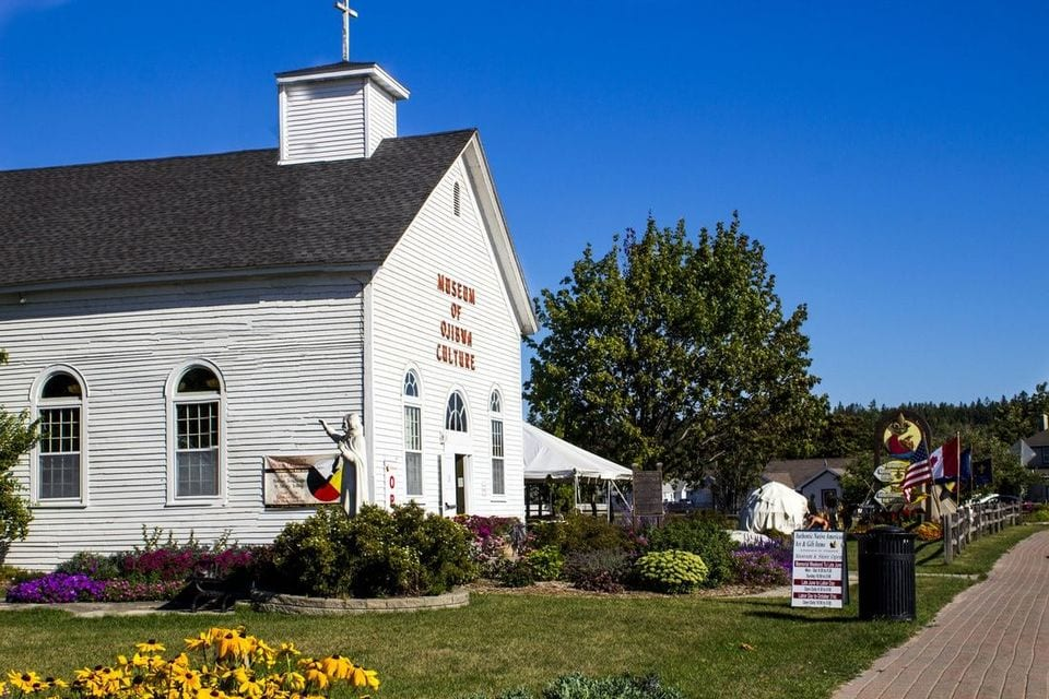 Marquette Mission Park and Museum of Ojibwa Culture