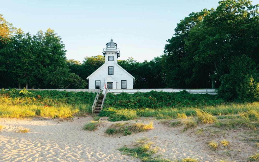 Mission Point Lighthouse, Old Mission Peninsula