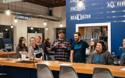 Beulah's Newest Craft Beer Destination: Five Shores Brewing